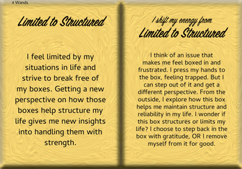 How to Shift Your Energy from LIMITED to STRUCTURED