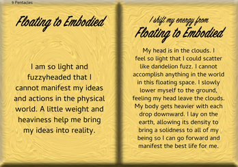 How to Shift Your Energy from FLOATING to EMBODIED