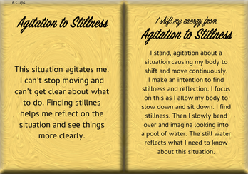 How to Shift Your Energy from AGITATION to STILLNESS