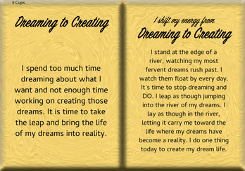 How to Shift Your Energy from DREAMING to CREATING