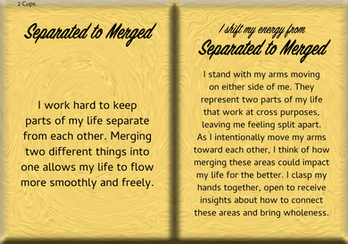 How to Shift Your Energy from SEPARATED to MERGED