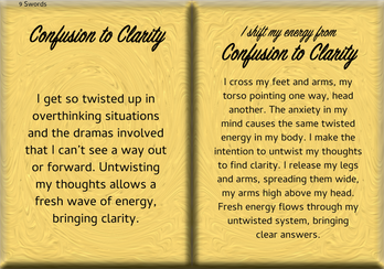 How to Shift Your Energy from CONFUSION to CLARITY
