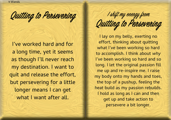 How to Shift Your Energy from QUITTING to PERSEVERING