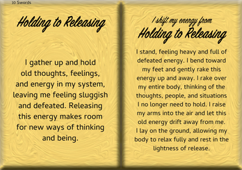 How to Shift Your Energy from HOLDING to RELEASING