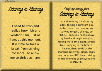 How to Shift Your Energy from STRIVING to THRIVING