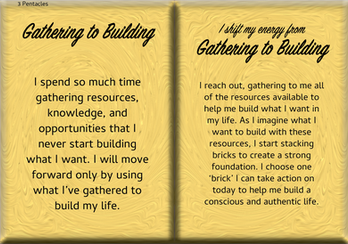 How to Shift Your Energy from GATHERING to BUILDING