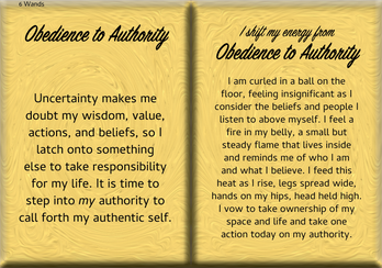 How to Shift Your Energy from OBEDIENCE to AUTHORITY