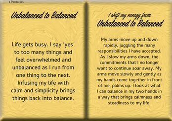 How to Shift Your Energy from UNBALANCED to BALANCED