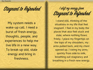 How to Shift Your Energy from STAGNANT to REFRESHED