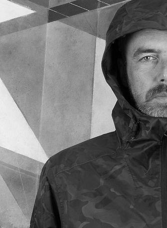 portrait photograph of abstract artist Michael Miller