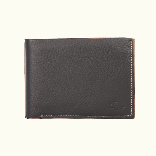 Double Panel Wallet 7 card with window and coin (dollar)-MO01099