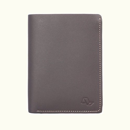 Vertical Wallet 2 flap 15 card with window-NF05879