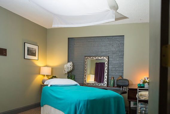Acupuncture Treatment Room at Serenity on the Square