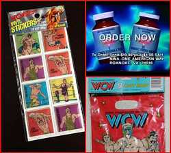 10 Random Pieces Of WCW Merchandise