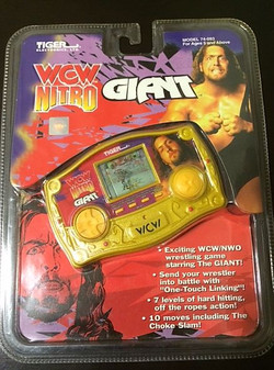 WCW Nitro LCD Game Featuring The Giant