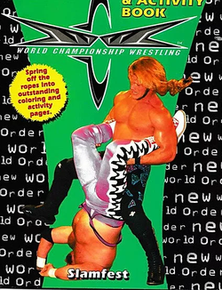 Chris Jericho Headlines A WCW Coloring Book