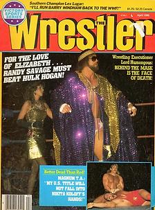 The Wrestler April 1986