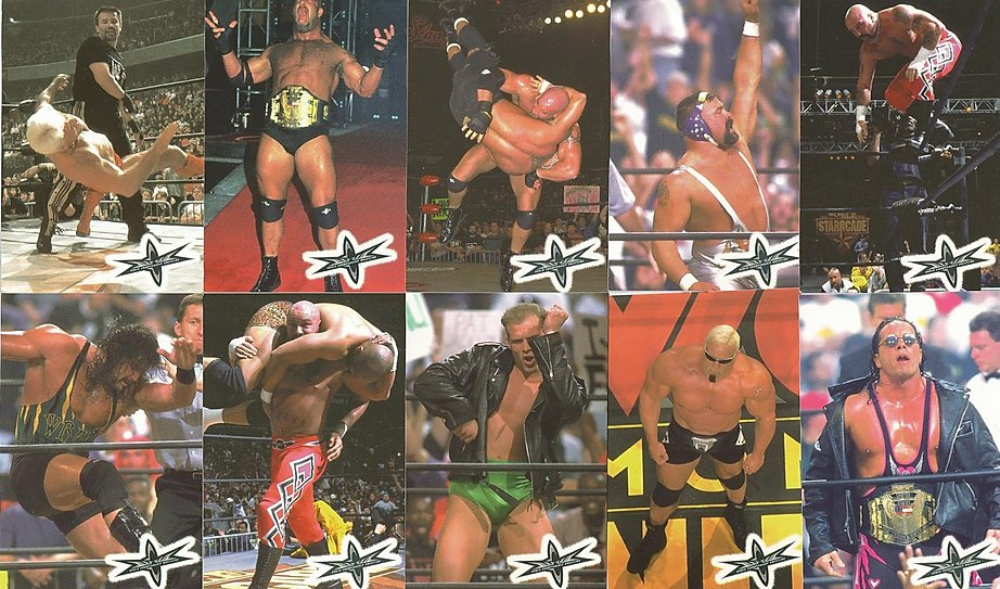 WCW Crazy Planet Stickers