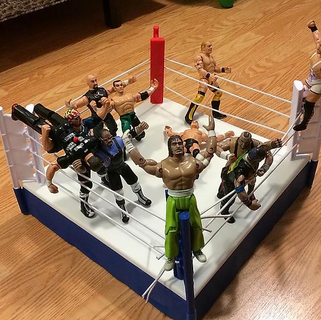 ECW figures