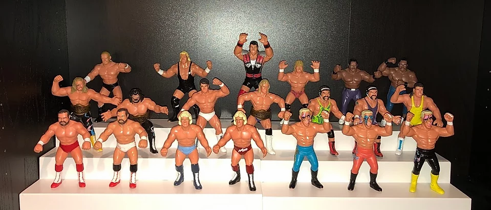 WCW Galoob UK Exclusives
