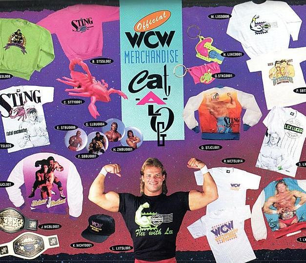 WCW Merch From '92