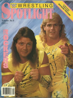 Magazine Of The Month: WWF Wrestling Spotlight (The Rockers)