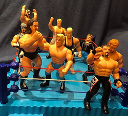 WCW 6 inch San Francisco Toymakers figur