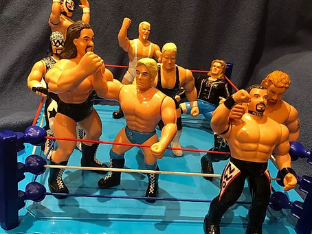 WCW 6 Inch San Francisco Toymakers Figures