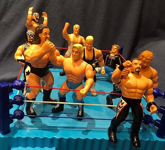 WCW 6 inch San Francisco Toymakers figur