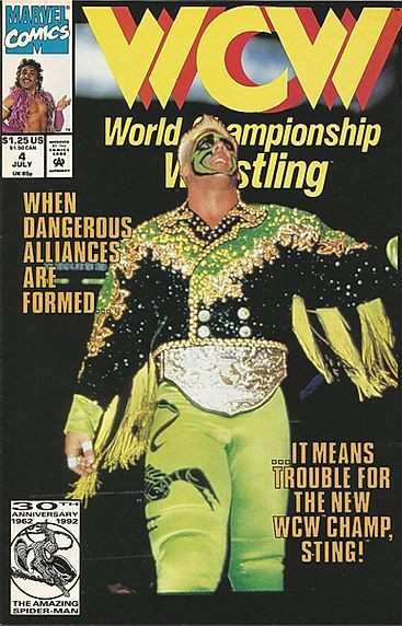 Marvel's WCW Comic Book Issue # 4