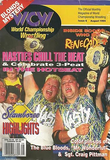 WCW Magazine, August 1995