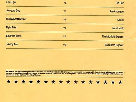 My First WCW Show