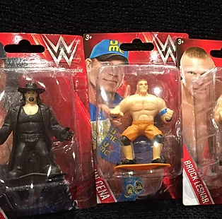 WWE Superstar Figurines For A Dollar!