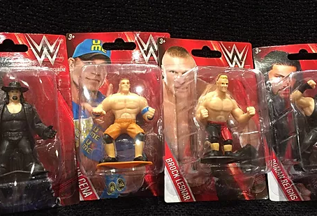 WWE Superstar Figurines For A Dollar
