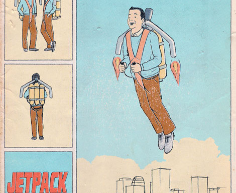 """Jet Pack from """"Jill Comes Alive"""""""