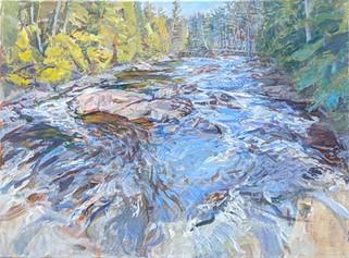 Anne Diggory Diversion at Hulls Falls 2020 acrylic on canvas 18x24  1800.jpg