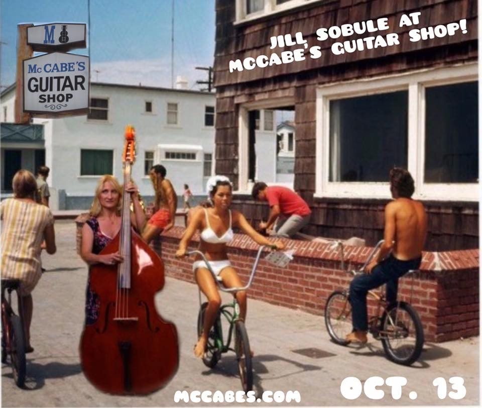 McCabe's Guitar Shop. Friday the friggin 13th!