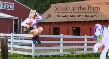 Holyoke, MA -  May 20th -- Music at the Barn