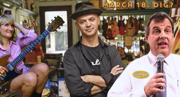 NJ - March 18th @ the Guitar Bar