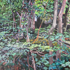 Theresa Bartol The Path 30x30 oil on can