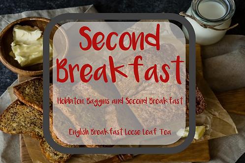 Second Breakfast | English Breakfast Black Loose Leaf Tea