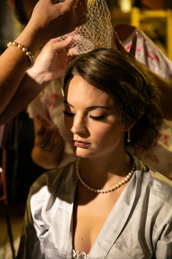 THE GETTING READY OF THE BRIDE