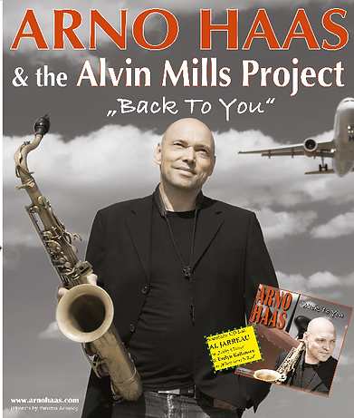 Promotion Poster Arno Haas, Photo by PatriziaAdamoPhotography