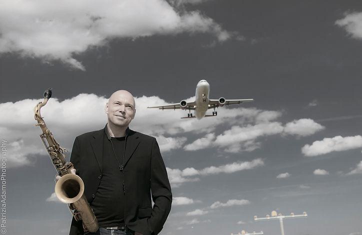 Arno Haas Airport CD-Cover Shooting , Patrizia Adamo Photography