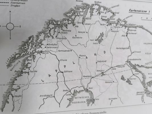 Eismeerfront, Arctic Front, German Mountain Corps Combat Operations Norway to capture Murmansk, 1941