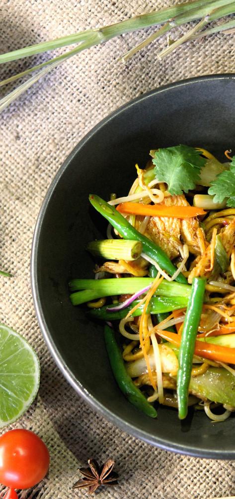 Chicken Hokkien Noodle