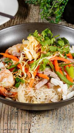 Singaporean Stir-Fried Noodle