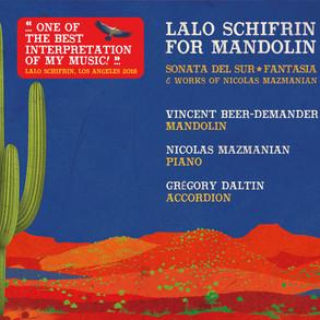 LALO SCHIFRIN FOR MANDOLIN