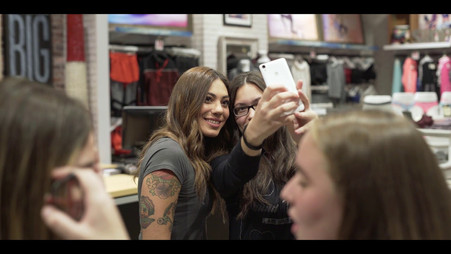 Event Video for Aeropostale with Evridiki Valavani