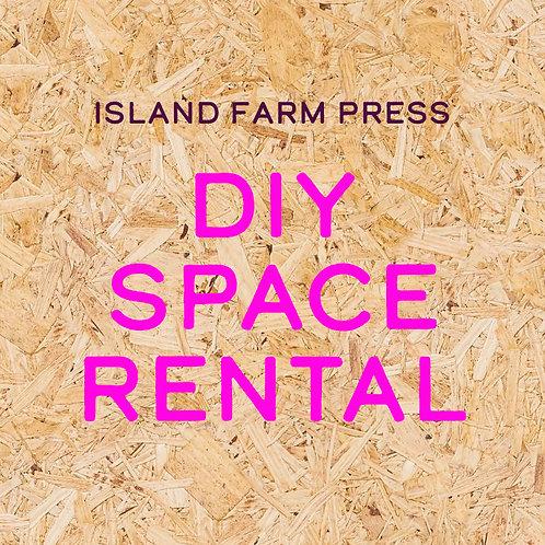 DIY Space Rental